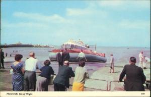 Ryde (Isle of Wight) Luftkissenboot Hovercraft Hochsee Schiff Linie Isle  1979