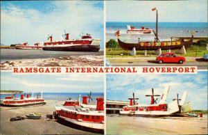 Ramsgate Luftkissenboot Hovercraft Viking Ship Int. Hoverport 1970