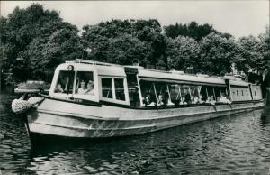 London British Waterways London Zoo Water-Bus, Fahrgastschiff Schiffsfoto 1960