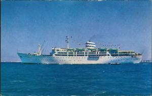 allgemein ISRAEL NAVIGATION COMPANY LTD Schiff Ship MS MOLEDET Schiffsfoto 1970