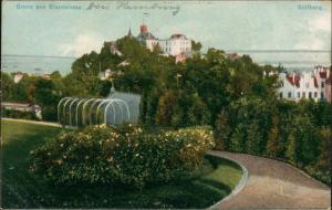 Ansichtskarte Blankenese-Hamburg Partie auf dem Süllberg Weg 1917