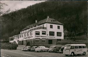Ansichtskarte Beverungen Berghotel Waldfrieden 1959