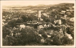 Ansichtskarte Bielefeld Sparenburg Luftbild 1934