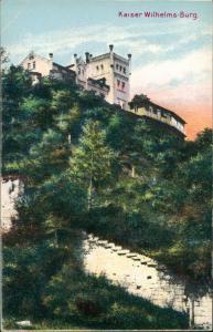 Bad Kösen Kaiser Wilhelmsburg, Bad Kösen Besitzer: PAUL SCHUBERT 1910