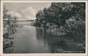 Wesenberg (Mecklenburg) Parite An der Woblitz DDR Postkarte 1957/1956
