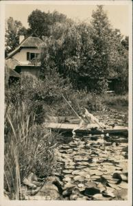 Lübben (Spreewald) Lubin   Umland-Ansicht Partie an Buchan`s Gasthaus 1936